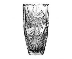Crystaljulia 4888 Vase Crystalite Schleudersternmuster, 20 cm, transparent