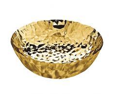 Alessi Joy Nummer 11 Schale, rund aus Edelstahl 18/10 vergoldet