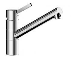 Blanco Tivo-F, abnehmbare Küchenarmatur für die Spüle vor dem Fenster; Vorfensterwasserhahn, Oberfläche Chrom, Hochdruck, 1 Stück; 518408