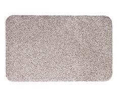andiamo Fußmatte Samson, waschbare & resistente Türmatte aus 100% Baumwolle, Größe:60x100cm, Farbe:Hellbeige