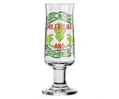 RITZENHOFF Schnapps Schnapsglas, Glas, Mehrfarbig, 3.8 cm