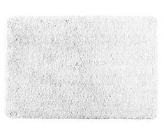 Wenko Badteppich Poly White Duschmatte, weiß, 90 x 60 x 0.5 cm