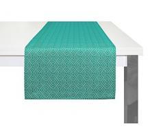 Adam Graphic Ventus Tischläufer, Bio Baumwolle, Gelb, 50 x 150 cm