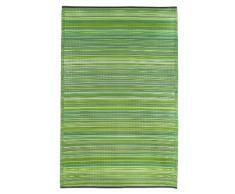 Fab Hab - Cancun - Grün - Teppich/ Matte für den Innen- und Außenbereich (150 cm x 240 cm)