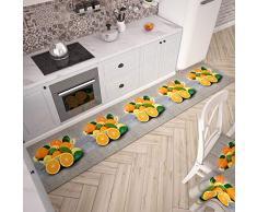 PETTI Artigiani Italiani Teppich für Küche 52x340 cm Arance