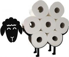 Toilettenpapierhalter mit niedlichem Schaf, freistehend, zur Wandmontage, Toilettenpapier-Ständer und Halterung für Toilettenpapierböden, tolles Geschenk