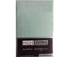 Highliving Bettdecke, Baumwolle, meergrün, King Size
