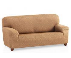 Bartali Stretch Sofahusse Aitana - Farbe Beige - 2 Sitzer (von 110 bis 150 cm)