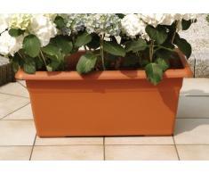 Stefanplast Blumenkasten Mediterrane cm.60 x 32 x 28H Farbe Terracotta