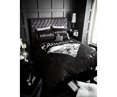 Gaveno Cavalia Luxus Billionaire Bettdecke Set mit Bettbezug und Kissen Fall Double, schwarz