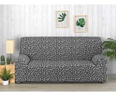Martina Home Sofabezug, 4 Sitzplätze, Schwarz/Weiß