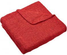 Zebra Textil Sofa, Rot