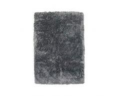 Thedecofactory Teppich Extra Weich, Polyester, blau Asch, 90 x 60 x 2 cm