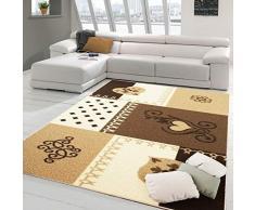 PETTE Artigiani Italiani Teppich 115 x 160 cm beige