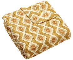 Zebra Textil Sofa, Beige