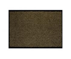 Proper Tex Uni Schmutzfangmatte / Türmatte / Fußabstreifer / robust / langlebig / für den Innenbereich - braun - 60 x 90 cm