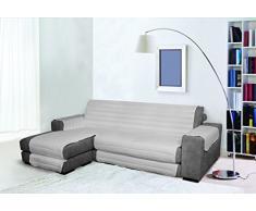 Trendy Sofabezug mit Penisel 190 cm grau