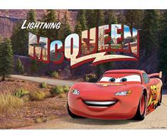 AG Design Cars Disney, Vlies Fototapete Kinderzimmer-1 Teil, Mehrfarbig 0,1 x 160 x 110 cm