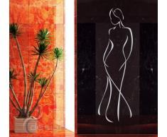 Graz Design 620422_40_072 Kühlschrank Aufkleber Wandtattoo für Küche Cool kalt Eiswürfel, Größe 70 x 40 cm, Farbe 072, hellgrau