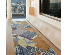 Confetti Teppich, Blau, 80 x 150 cm