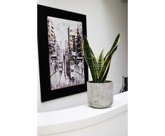 Ivyline Blumentopf, Zement, Cement, 18 cm
