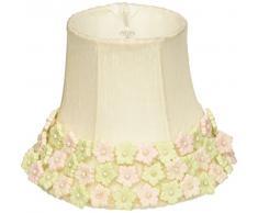 Jubilee Collection 2253 Blume Grenze Kronleuchter Schatten, Pink/Grün