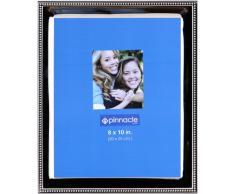 Pinnacle Frames silber Perlen Schreibtisch Rahmen 8x10 silber