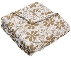Zebra Textil Sofa, Weiß