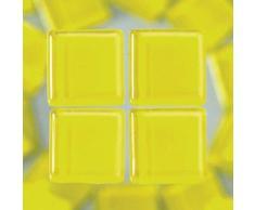 MosaixSoft 15Â x 15Â x 4Â mm 200Â g 91-teilig Glas Fliesen, gelb