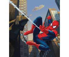 AG Design FTDxl 1919 Spider-Man Marvel, Papier Fototapete Kinderzimmer- 180x202 cm - 2 Teile, Papier, Multicolor, 0,1 x 180 x 202 cm