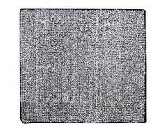 RIDDER 7021810-00 Fresh Badteppich, Teppich, Vorleger, Polyester, schwarz, ca. 55x50 cm