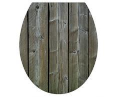 Plage 260210 Toiletten-Deckel Sticker Smooth, Holz, 40 x 34 cm