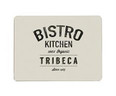 Premier Housewares Bistro-Set mit 4 Tischsets, Kork