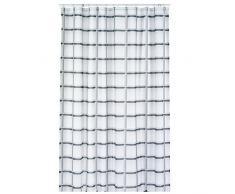 Kela Laneta Vorhang für die Dusche, Polyester, Grau, 180x 200cm