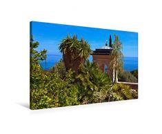 Premium Textil-Leinwand 90 x 60 cm Quer-Format Pavillon   Wandbild, HD-Bild auf Keilrahmen, Fertigbild auf hochwertigem Vlies, Leinwanddruck von Bernd Zillich