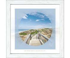 Pro-Art an574o2 Wandbild Scandic-Living maritim brand - sea view 35 x 35 cm