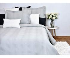 MI CASA Tagesdecke, Polyester, Grau, 200 x 270 cm (CAMA 105)