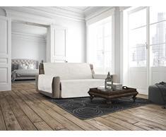 Italian Bed Linen Sofabezug, rutschfest, Comfort 3 Sitze cremeweiß