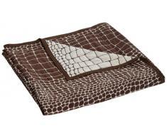 Hagemann Überwurf, Polyester, Braun, 200 cm x 290 cm