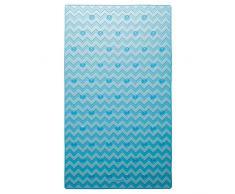 Sealskin Leisure Badewanneneinlage, Sicherheitseinlage für Dusche und Badewanne, Farbe: Blau, Größe: 70x40 cm