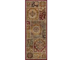 Universal Teppich, orientalischer Teppich, Läufer, Accent, Mehrfarbig, 221 x 79 cm, 2 x 8, Polypropylen, Mehrfarbig, 221 x 79 cm x 0,43