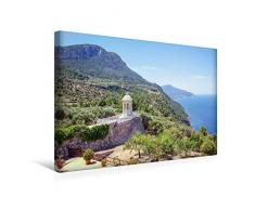 Premium Textil-Leinwand 45 x 30 cm Quer-Format Der Pavillon von Son Marroig   Wandbild, HD-Bild auf Keilrahmen, Fertigbild auf hochwertigem Vlies, Leinwanddruck von Martin Boose