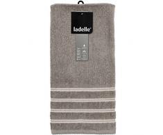 Ladelle 40259 Geschirrtuch Professional Series II, Baumwolle, steingrau, 30 x 30 x 20 cm