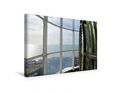 Premium Textil-Leinwand 45 x 30 cm Quer-Format Laterne des Leuchtturms von Mont Saint-Clair   Wandbild, HD-Bild auf Keilrahmen, Fertigbild auf hochwertigem Vlies, Leinwanddruck von Patrice Thébault