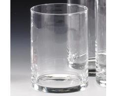 Sandra Rich 360001 Vase, Glas, transparent, 20 x 10 x 10 cm