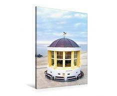 Premium Textil-Leinwand 60 x 90 cm Hoch-Format Pavillon mit Weihnachtsbaum   Wandbild, HD-Bild auf Keilrahmen, Fertigbild auf hochwertigem Vlies, Leinwanddruck von Andrea Dreegmeyer