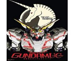Great Eastern Entertainment Gundam UC rx-o Unicorn Gundam Wall Scroll, 33 von Blumenkasten