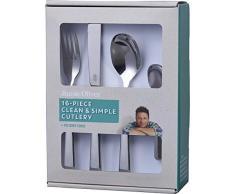 Jamie Oliver 556895 Besteckset Mix, poliert