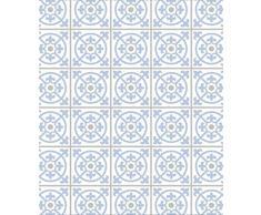 Wenko 2713150100 Glasrückwand Fliesen Blau, Spritzschutz, Gehärtetes Glas, 70 x 60 cm