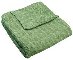 Zebra Textil Sofa, Grün